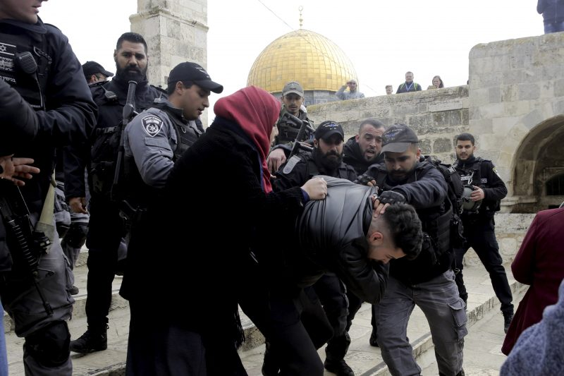Arab Authorities Abuse Their Authority on Jerusalem's Temple Mount