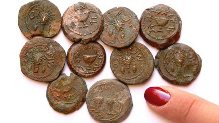 2,000-year-old rare coins discovered in Jerusalem cave
